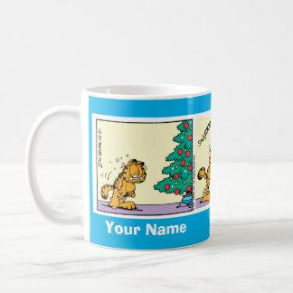 """Christmas Spirit"" Garfield Comic Strip Mug"