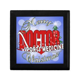 CHRISTMAS SPORTS MEDICINE DOCTOR TRINKET BOXES