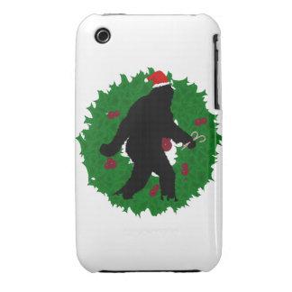 Christmas Squatchin' Case-Mate iPhone 3 Case