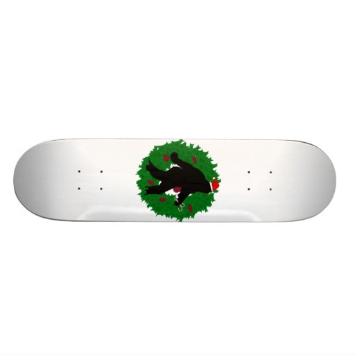 Christmas Squatchin' Skateboards