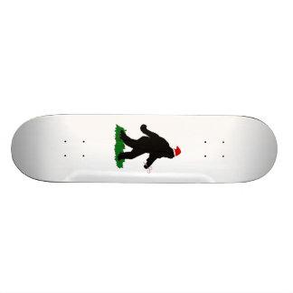 Christmas Squatchin Skateboard Deck