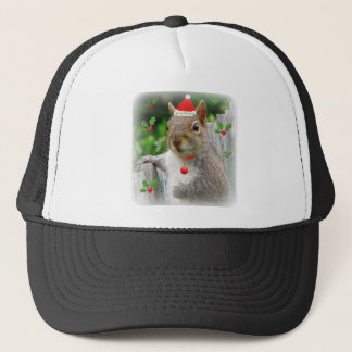 Christmas Squirrel 2010 Trucker Hat