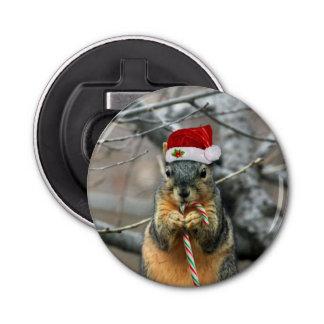 Christmas Squirrel Bottle Opener