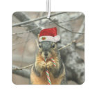 Christmas Squirrel Car Air Freshener