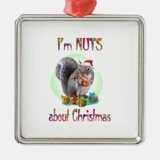 Christmas Squirrel Christmas Ornament