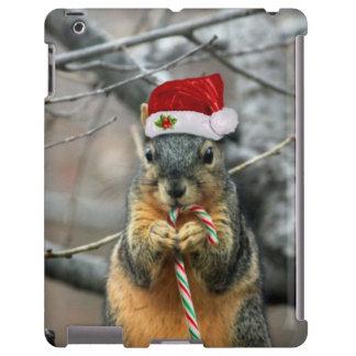 Christmas Squirrel iPad Case