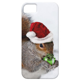 Christmas Squirrel iPhone 5 Cover