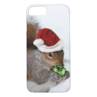 Christmas Squirrel iPhone 8/7 Case