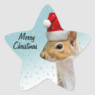 Christmas Squirrel Stickers CustomizeIt for shapes