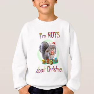 Christmas Squirrel Sweatshirt