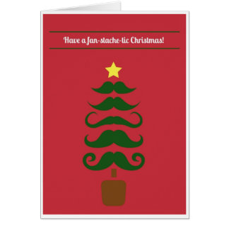 Christmas - Stache Card