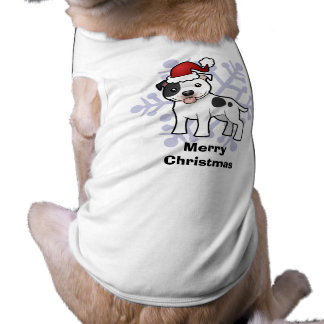 Christmas Staffordshire Bull Terrier Shirt
