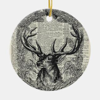 Christmas Stag Christmas Ornament