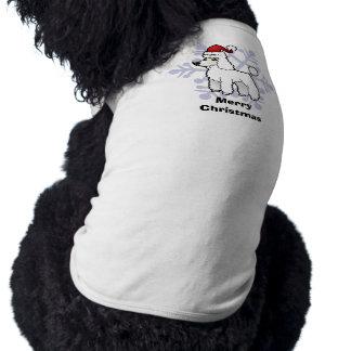 Christmas Standard/Miniature/Toy Poodle puppy cut Shirt
