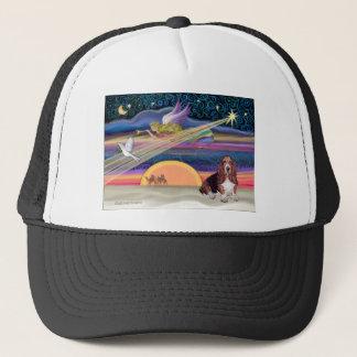 Christmas Star - Basset Hound 1 Trucker Hat