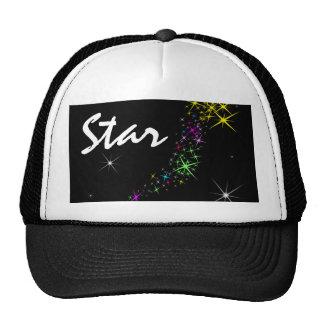 Christmas Star Black Cap