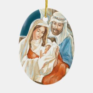 Christmas Star Nativity Painting Christmas Ornament