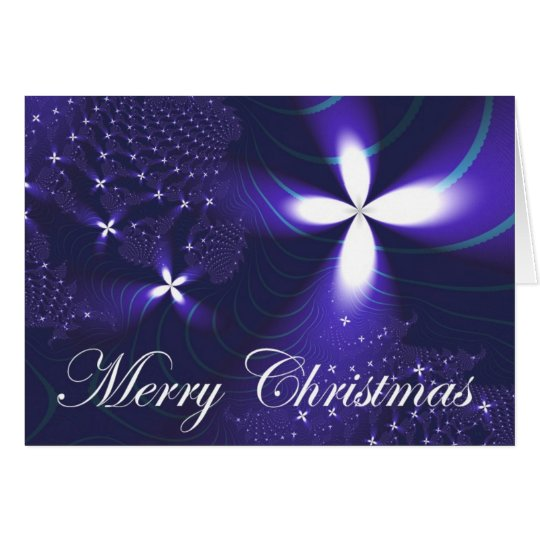 Christmas Star Note Card