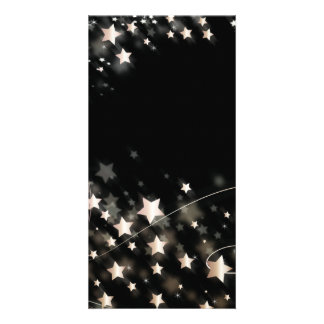 Christmas Star Photo Card Template