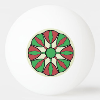 Christmas Star Ping Pong Ball