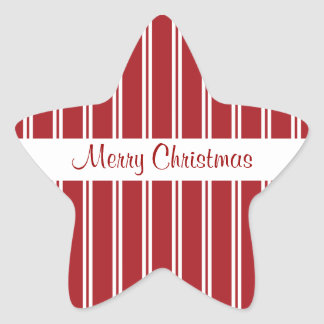 Christmas Star Stickers