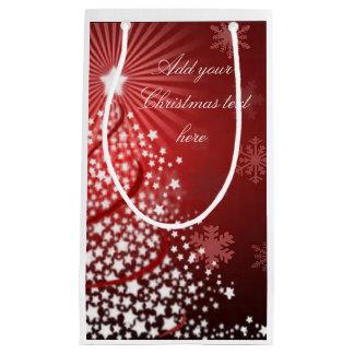 Christmas star tree gift bag