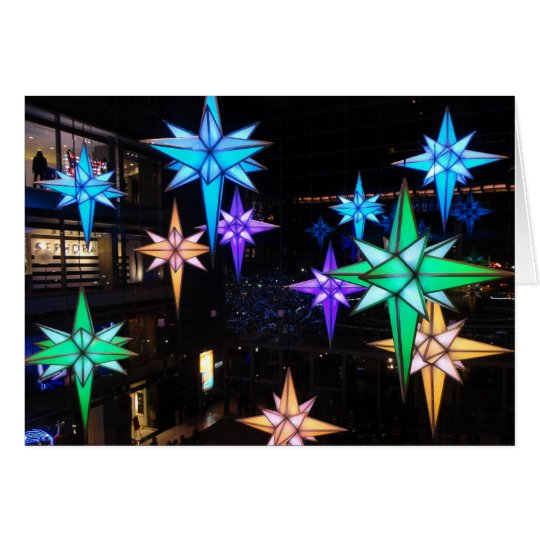 Christmas Stars at Columbus Circle Card