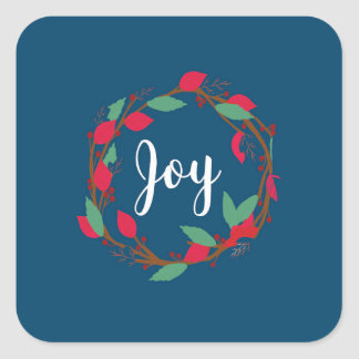 Christmas Sticker - Joy.