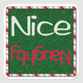 Christmas Sticker - Naughty or Nice