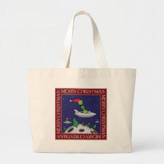 CHRISTMAS STICKERS, MUGS, ETC #2 JUMBO TOTE BAG
