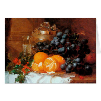 Christmas Still Life by Eloise Harriet Stannard Greeting Card