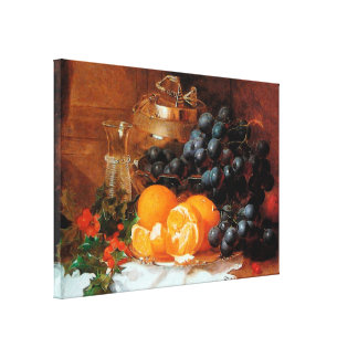 Christmas Still Life by Eloise Harriet Stannard Stretched Canvas Print