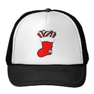 Christmas Stocking Design Mesh Hats