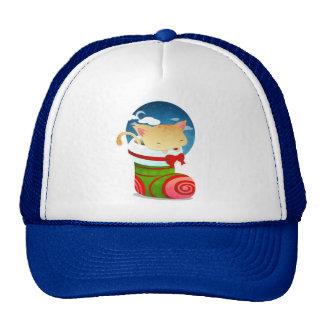 Christmas Stocking Mesh Hats