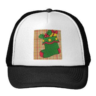 Christmas Stocking Trucker Hat