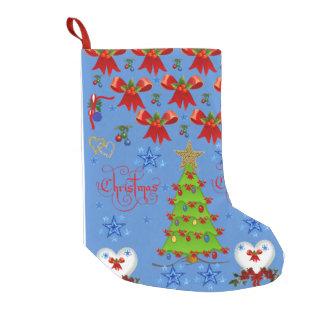 Christmas Stocking light blue