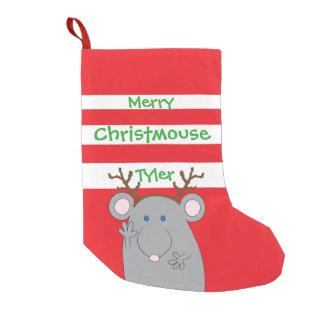 "Christmas Stocking ""Merry Christmouse"""