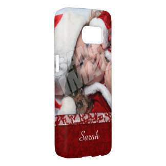 Christmas Stocking Photo Name Template