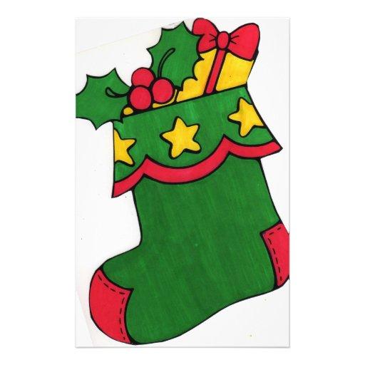 Christmas Stocking Stationery