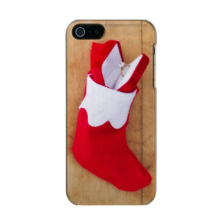 Christmas stocking with engagement ring incipio feather® shine iPhone 5 case