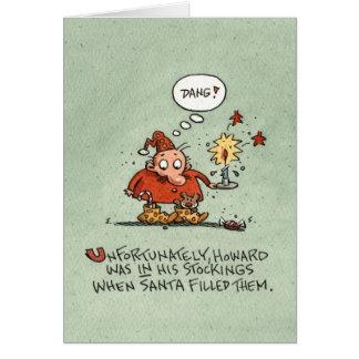 Christmas Stockings Card