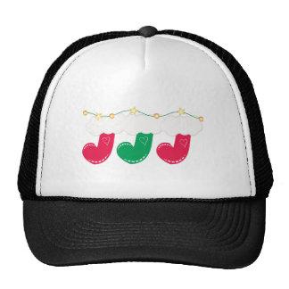 Christmas Stockings Mesh Hat