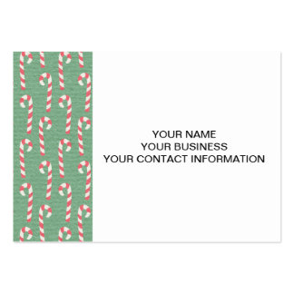 Christmas Stockings Holiday Pattern Business Card Template