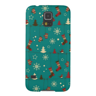 Christmas stockings pattern cases for galaxy s5