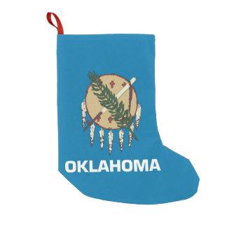 Christmas Stockings with Flag of Oklahoma