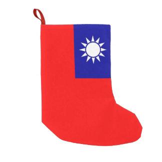 Christmas Stockings with Flag of Taiwan