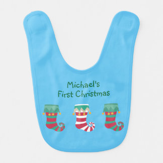 Christmas Stockings Wraparound Bibs