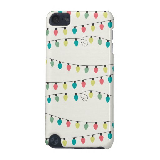 Christmas String of Lights Pattern iPod Touch (5th Generation) Cover