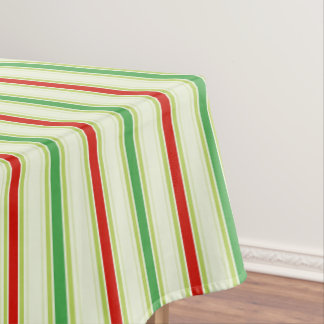 Christmas Stripe tablecloth