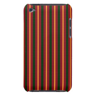 Christmas Stripes iPod Case-Mate Cases